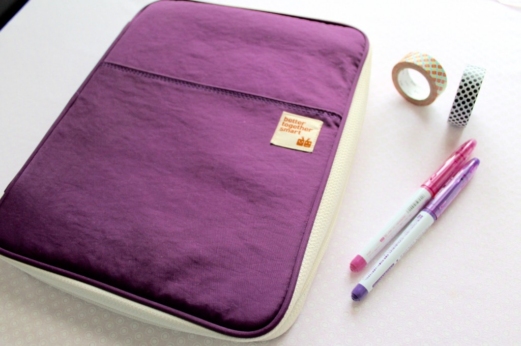 The Better Together Note Pouch for the iPad is perfect for planning