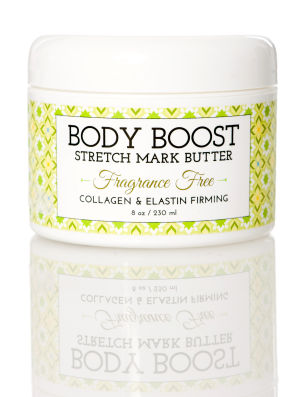 Pregnancy Pampering Product #3 - Body Boost Stretch Mark Butter