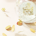 HTGAWC: Make Your Own DIY Gold Foil Garland