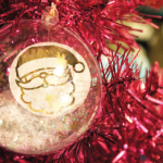 HTGAWC: DIY Gold Foil Ornaments
