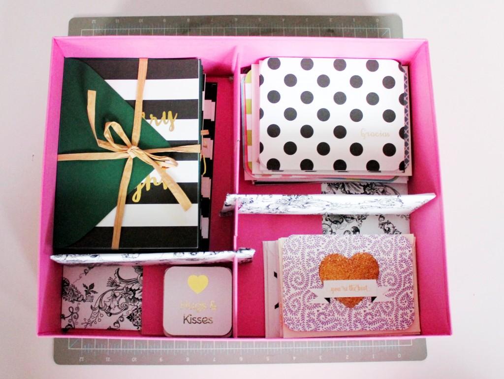 stationery storage box