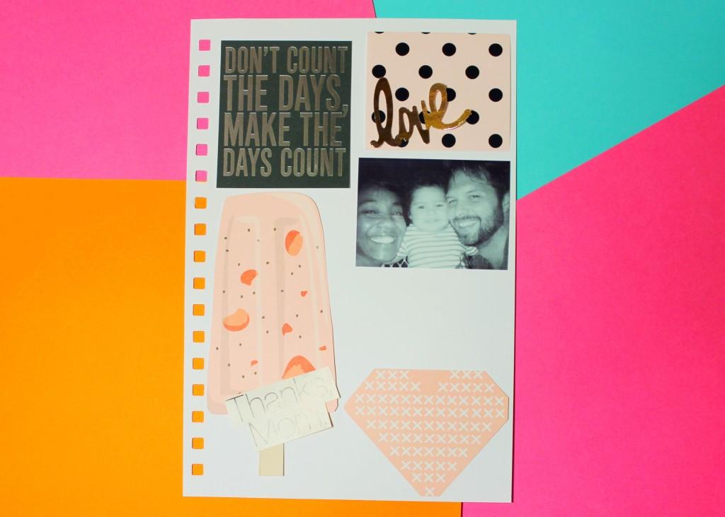Embellished layout for Kate Spade Planner Dashboard