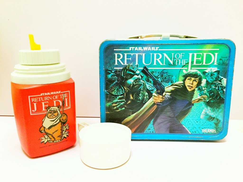 Star Wars Return of the Jedi Lunch Box from Liljellybeans.com Kids Consignment Shop