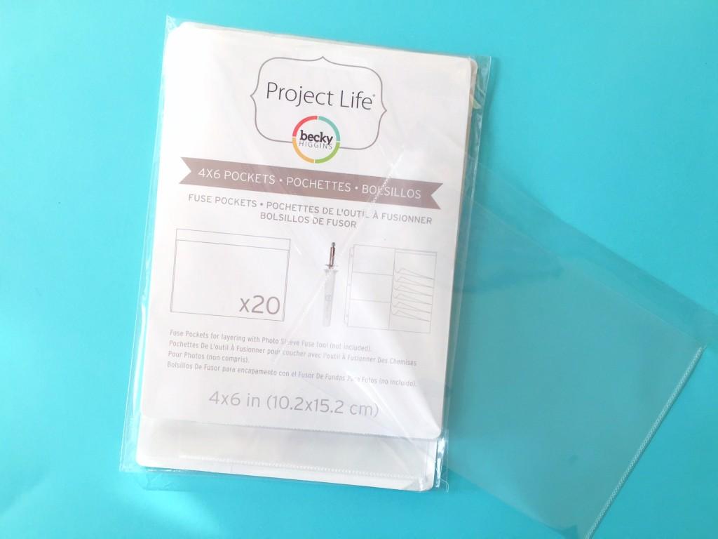 Becky Higgins Project Life FUSE Pockets