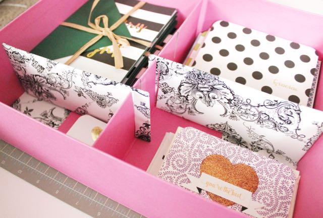 htgawcrafting Night 10 stationery storage box & HTGAWC: Make Your Own Stationery Storage Box - Pinkimono