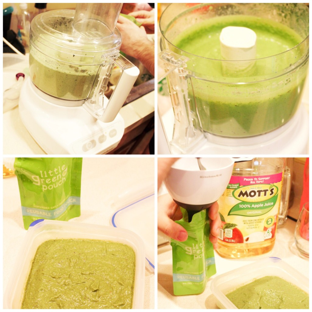 Bottle Weaning With Green Smoothies