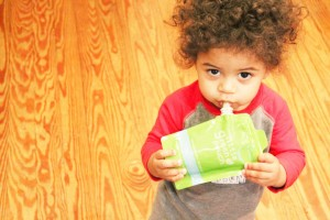 Westley loves his Little Green Pouch
