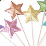 HTGAWC: DIY Paper Star Wands