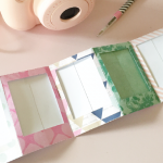 HTGAWC: DIY Accordion Photo Frame For Your Baby's First Ten Days