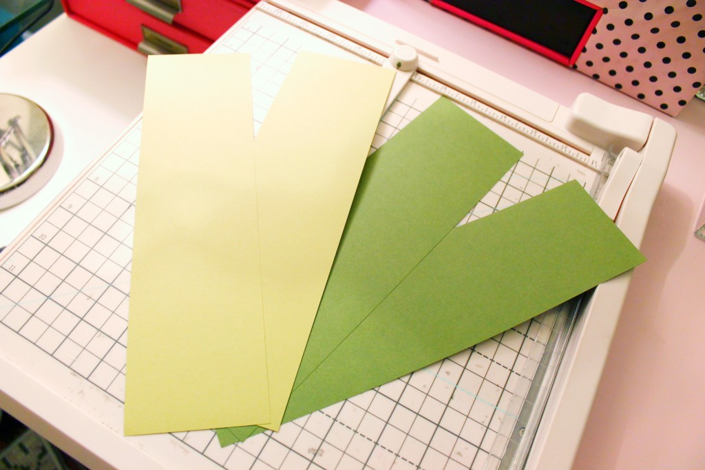 Strips of Paper For Grass For Personal Zoo