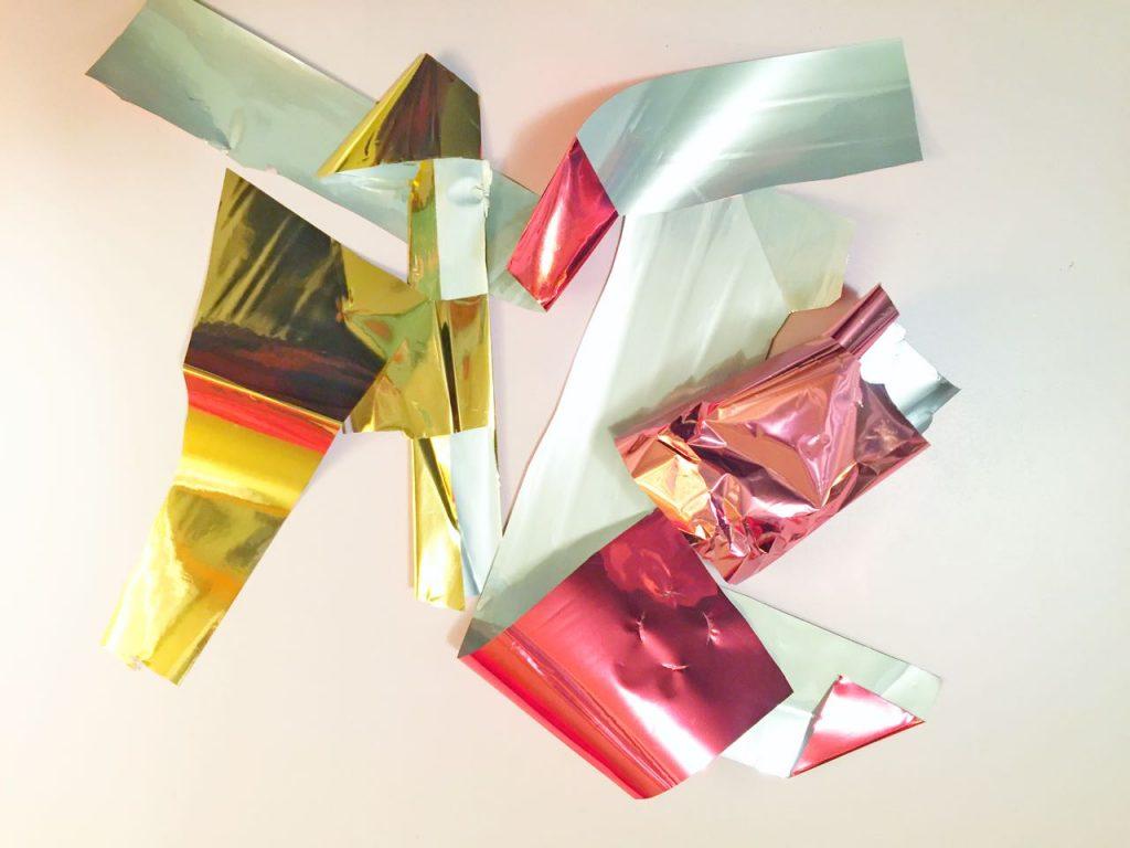 MINC Foil Planner Clips Foil Scraps