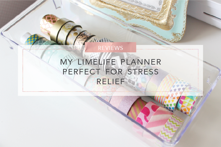 my limelife planner perfect for stress relief