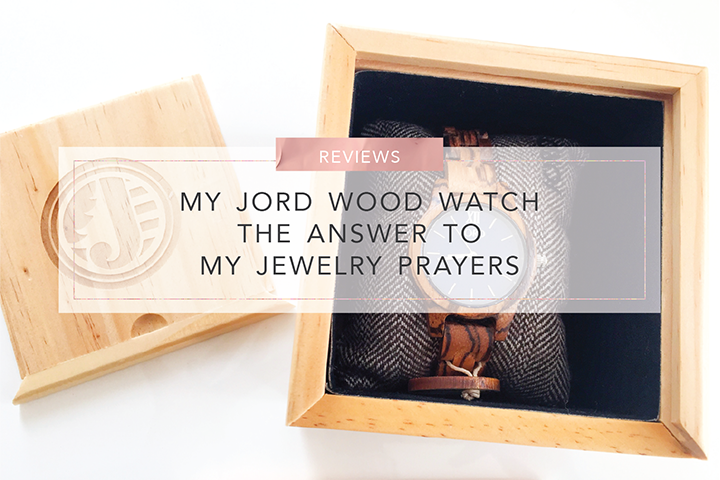 My JORD Wood Watch The Answer To My jewelry Prayers