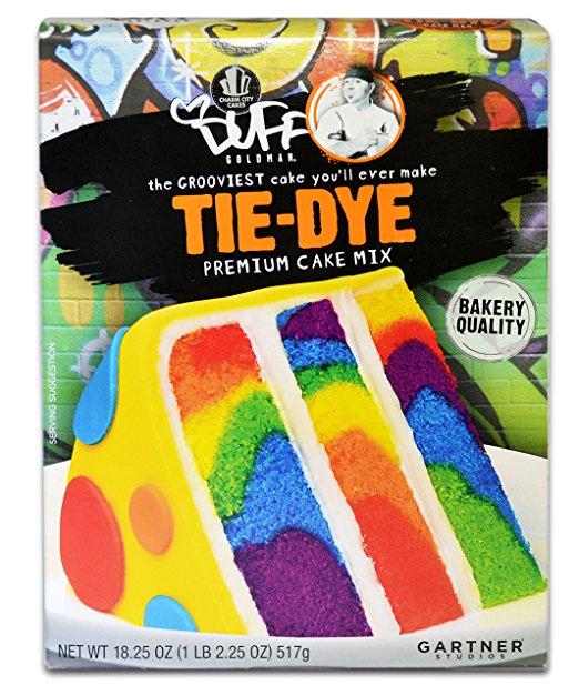 Easy Tie Dye Cake