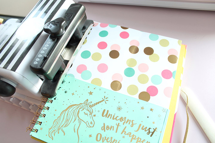 DIY Planner Folder For Brit + Co Planner