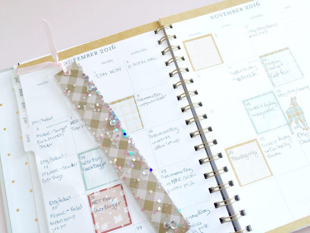 Pinkimono htgawc DIY Shaker Bookmarks - Complete