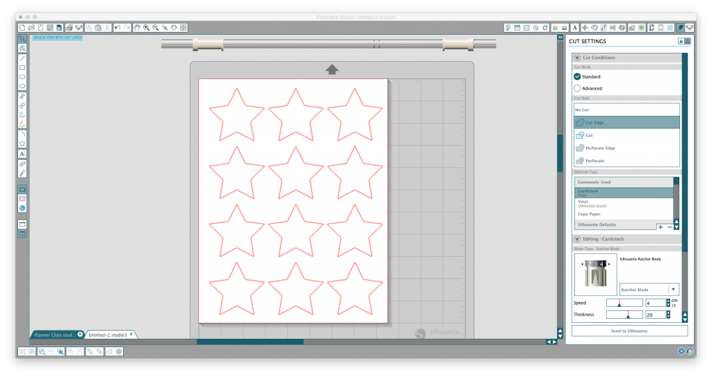 htgawcrafting Stars screenshot black & white mobile for a newborn
