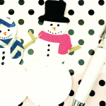 HTGAWC: Make Your Own Snowman Magnets