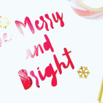 HTGAWC: Make Your Own DIY Holiday Cards with A Touch of Foil