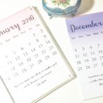 HTGAWC: Make A Repurposed A Table Top Calendar